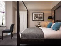 Experienced Hotel Receptionist sought for 5 star guesthouse. (Immediate start)