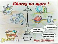 Local cleaning and ironing service