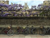 Large poster print of original photograph of Sidney Sussex College Cambridge