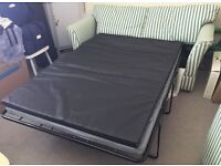 Large Sofa Bed with 2 Mattresses (1 is NEW) - 3 Seater Sofa Pull Out