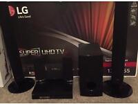 LG 3d DVD blue ray 5.1 home cinema