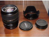 Canon ef-s 17-85mm f4-5.6 IS USM lens **Faulty**