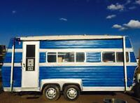 Converted Camper Turned Food Truck - Be Your Own Boss!