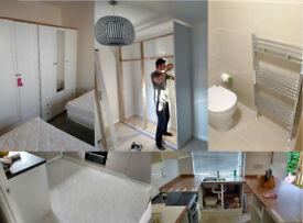 Handyman, Painter, Plumber, Tiling, Flooring, Furniture assembly, Gardening Locksmith Kitchen Fitter