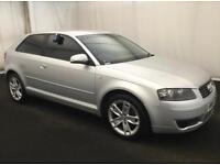 AUDI A3 1.9 TDI DIESEL 3 DOOR HATCHBACK WITH FACELIFT WHEELS GOLF GT TDI 1 SERIES FOCUS