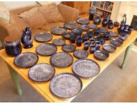 Large amount of Kernewy Pottery
