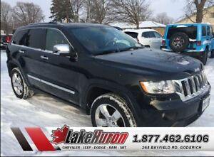 2012 Jeep Grand Cherokee Overland *TOTAL LUXURY*