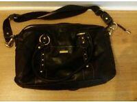 Storksak Black Elizabeth changing Bag