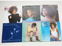"JOB LOT X 6 WHITNEY HOUSTON 7"" Vinyl in Picture Sleeves EX Condition Juke Box"