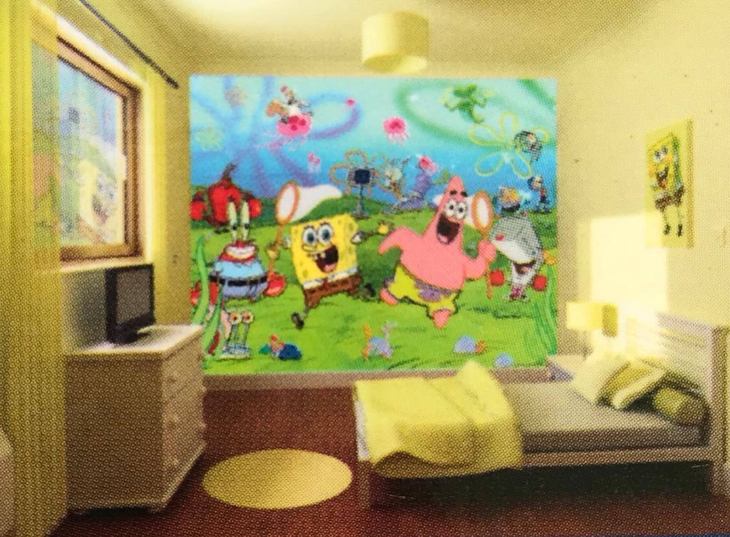 Walltastic Spongebob Squarepants Designer Wallpaper Mural BRAND NEW ...