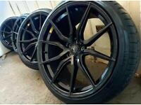 "22"" Spider Alloy Wheels Range Rover Land Rover BMW X5 vw transporter"