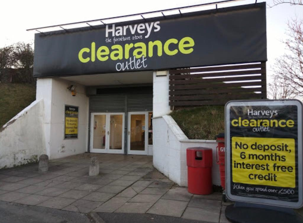 Harveys Furniture Factory Outlet