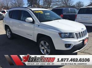 2015 Jeep Compass *High Altitude* Leather Sunroof*