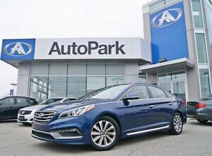 2015 Hyundai Sonata Sport PANO ROOF|BLINDSPOT|REAR CAM|KEYLESS