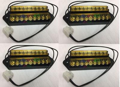 4 Set Splits 1 Input To 8 Out 8 Way Terminal Block Bus Bar T
