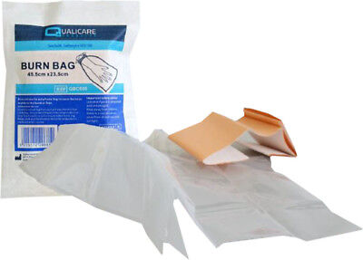 First Aids Hand Foot Sterile Polythene Burn Bag 45.5cm x 23.5cm