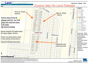 lot 65 Henty st Korong vale vic 1000 m/2 Korong Vale Loddon Area Preview