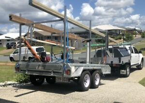 10x6  trailer with racks and tool boxes Maroochydore Maroochydore Area Preview