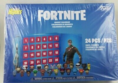 FORTNITE Funko POP! Advent Calendar ~ 24 Pocket Pint Size Heroes ~ New/Sealed