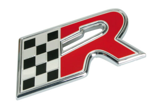 Pilot 3d Emblem Chrome Finish R-flagge