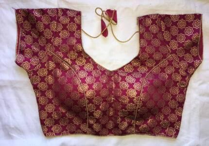 BRAND NEW - Brocade Saree Blouse (#BL 08)