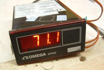Omega Dp460 Rtd Temperature Display With A Type T Thermocouple