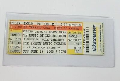 The Music Of Led Zeppelin Ticket Dte Energy Music Theater 2005