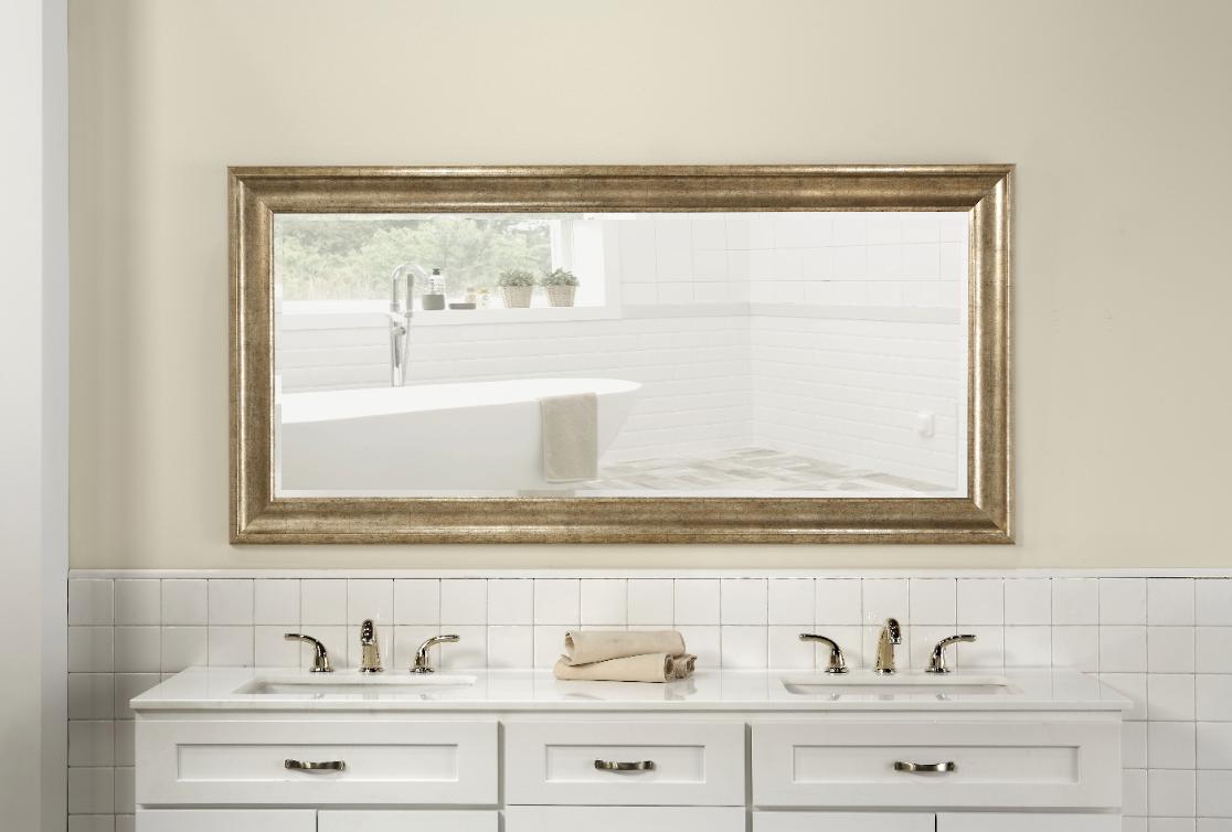 Full Length Floor Mirror Standing Wall Hang Leaner Living Be