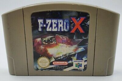 F-Zero X - N64 Nintendo 64 - Cartridge only - Pal
