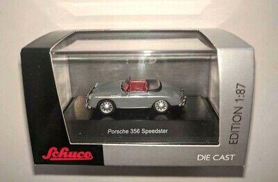Schuco 1/87 Porsche 356 A Speedster Gray