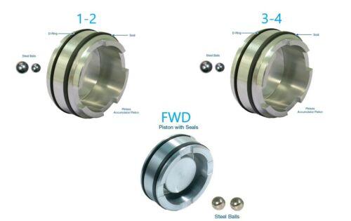 4L60E 4L65E 4L70E Pinless Forward Accumulator Piston Kit Sonnax FWD, 1-2 and 3-4
