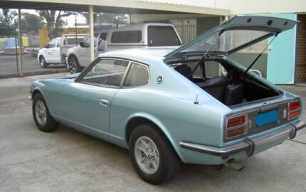 1975 Datsun 260Z Coupe - triple webbers - original engine