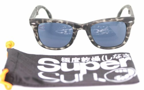 SUPERDRY The Rock & Roll Fold Sonnenbrille Brille Grau gemustert sunglasses