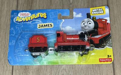 Fisher Price Thomas & Friends Adventures JAMES Metal Train Engine