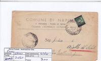 E0040 - Luogotenenza Monumenti Sovrastampato 2 Lire Su Lettera -  - ebay.it