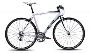 2013-Polygon-Helios-F5-0-Flat-Bar-Road-Bike-Shimano-105-Carbon-Fork-NEW