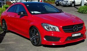 2015 Mercedes-Benz CLA250 117 MY15 4Matic Red 7 Speed Automatic Coupe