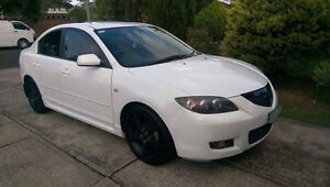 Mazda 3 pearl white Quakers Hill Blacktown Area Preview
