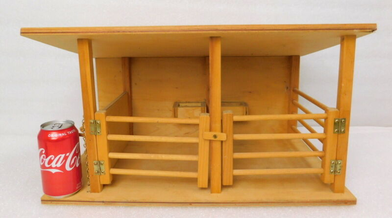 Dutch Country Amish Wood Handmade Toy Horse Stable Barn Play Set (for Bryer )