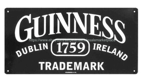 metal collectibles signs Guinness Dublin 1759 Ireland metal tin sign