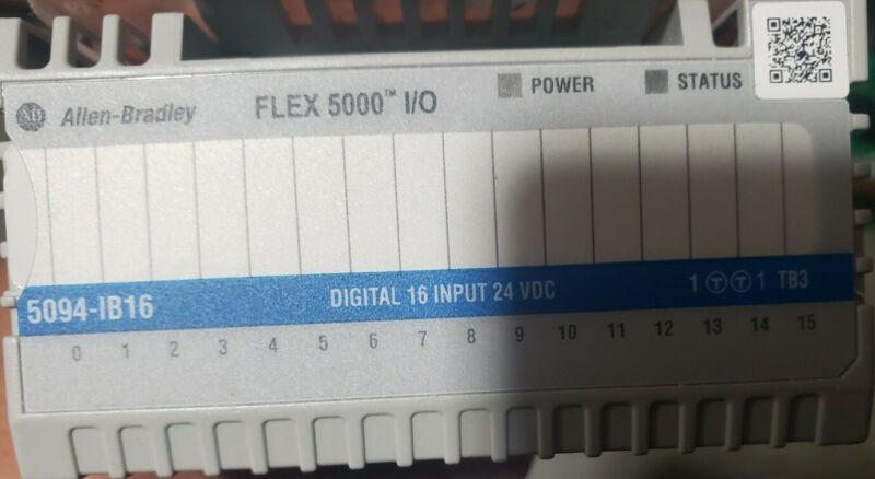 Allen Bradley, 5094-IB16, 16point Digital Card.