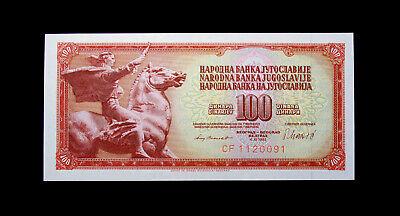 Yugoslavia 100 Dinara 1994 UNC P-139