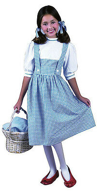 Dorothy Wizard of Oz Country Girl Fancy Dress Up Halloween Toddler Child Costume