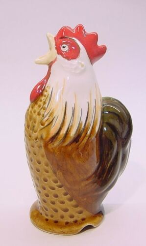Stuart Bass ROOSTER Pie Bird Funnel Vent * Brown Rooster ENGLISH CHICKEN FARM