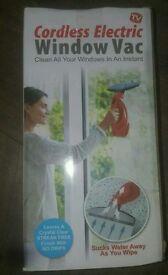 Brand new cordless window vac