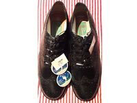 Ghillie Brogues Black brand new size 10 ideal to wear with a kilt