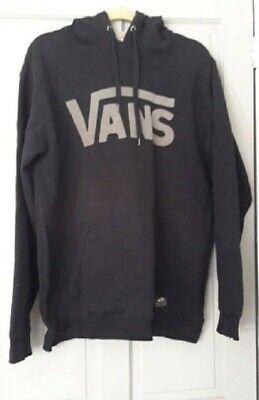 Vans Off The Wall Mens Black Sweatshirt/hoodie Size XXL