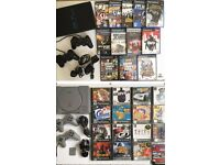 Retro Sony PS1 & PS2 Bundle | 2 Consoles | 4 Controllers | 27 Games | All Leads | Fully Working |