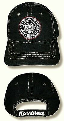 """RAMONES, THE - HAT/CAP """"Seal Logo Patch"""" Licensed Authentic NEW"""