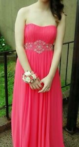 Coral Empire Style Prom Dress - Mint Condition